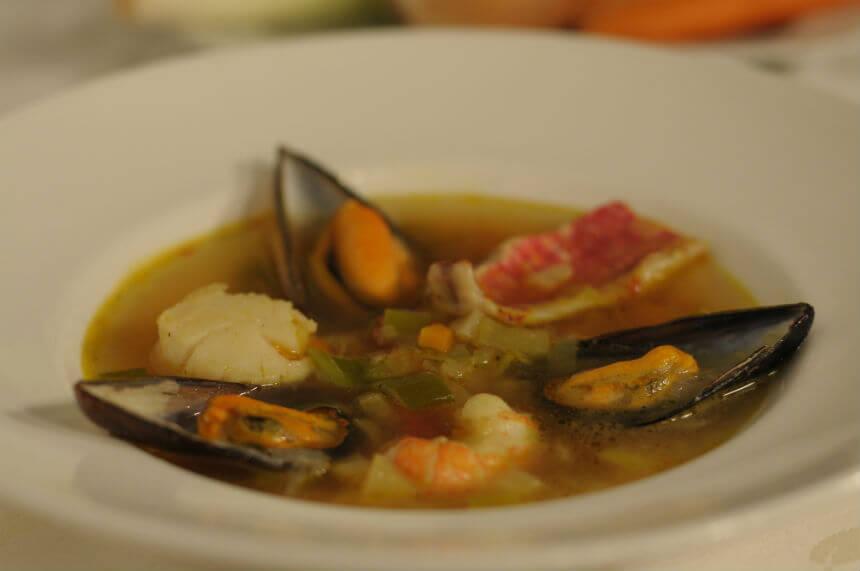 Bouillabaisse juha - Fini Recepti