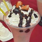 Milkshake s jagodama