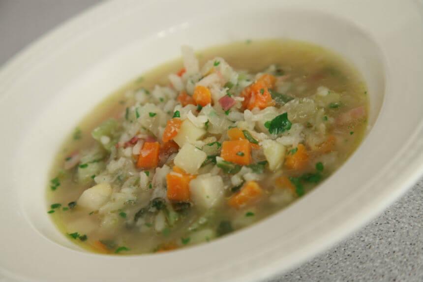 Minestrone s rižom - Fini Recepti by Crochef