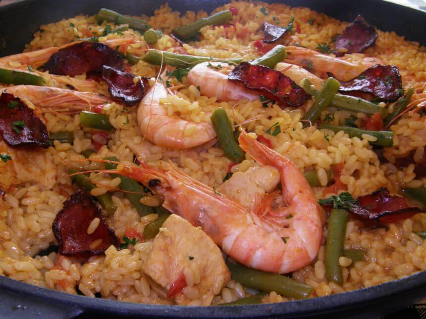 Paella - Fini Recepti