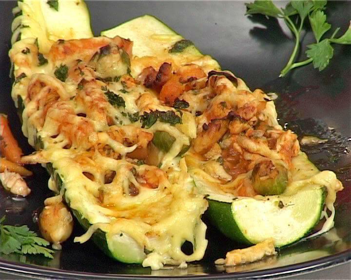 Tikvice punjene puretinom i povrćem