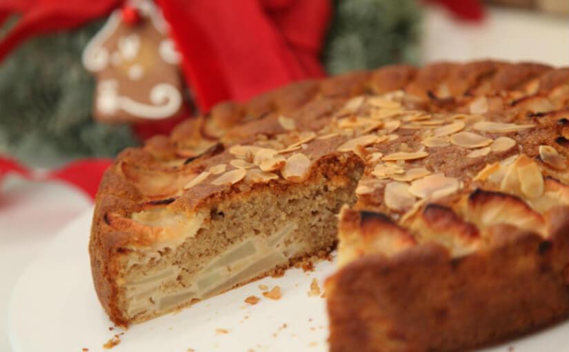 Aromatična torta s jabukama