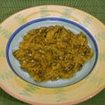 Bamije s umakom od currya