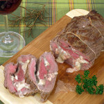Biftek punjen gorgonzolom