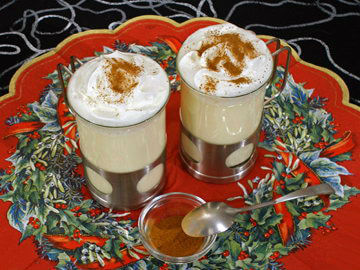 Vruća bijela čokolada