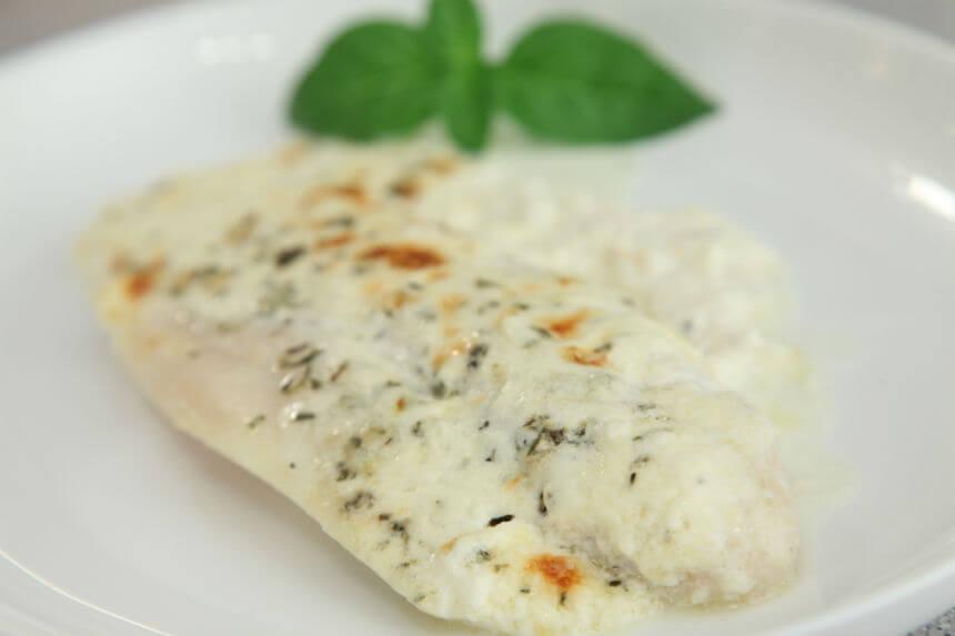 File bijele ribe u vrhnju s mediteranskim začinima - Fini Recepti by Crochef