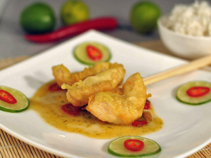 Fileti bijele ribe s umakom od limete i čilija - Fini Recepti