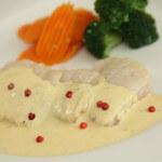 Filet bijele ribe u umaku od pjenušca
