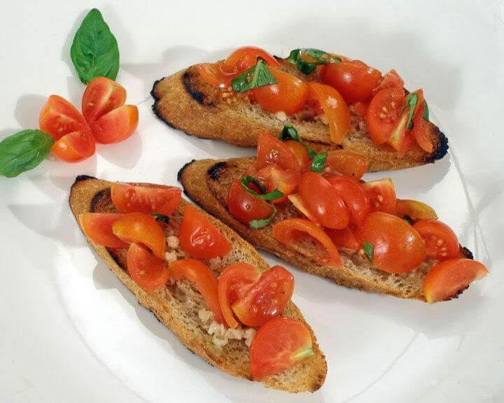 Bruschetta - Fini recepti
