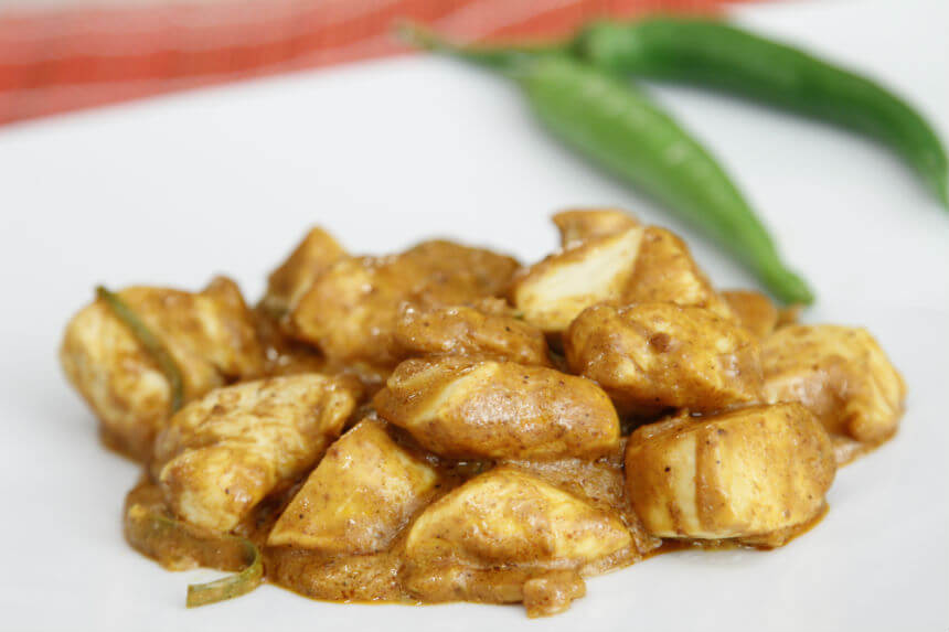 Brzi pileći curry - Fini Recepti by Crochef