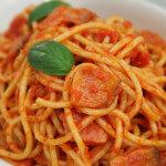 Bucatini alla amatriciana - Fini Recepti by Crochef