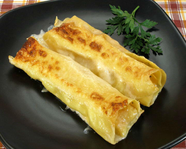 Cannelloni s nadjevom od piletine - Fini recepti