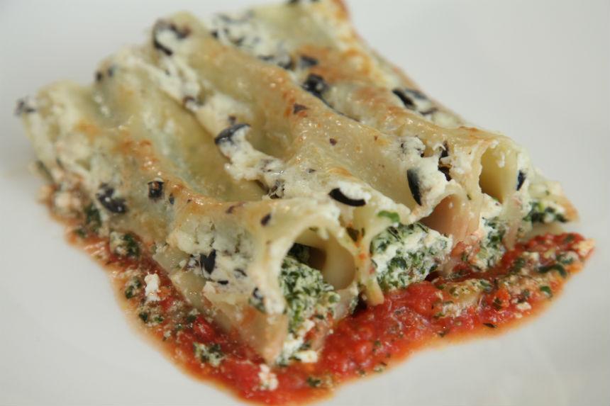 Cannelloni sa špinatom i svježim kravljim sirom - Fini Recepti by Crochef