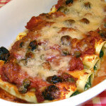 Cannelloni sa špinatom i feta sirom