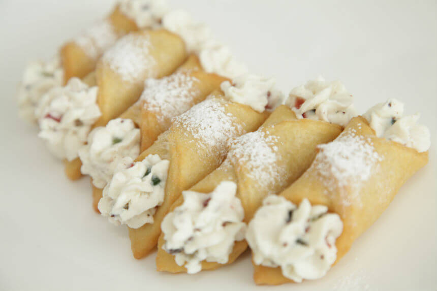 Cannoli - Fini Recepti by Crochef