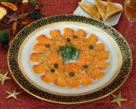Carpaccio od lososa s kaparama - Fini Recepti