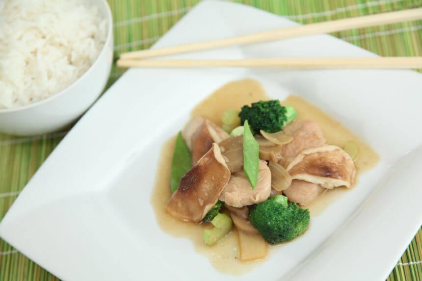 Chop suey s puretinom i shiitake gljivama - Fini Recepti by Crochef
