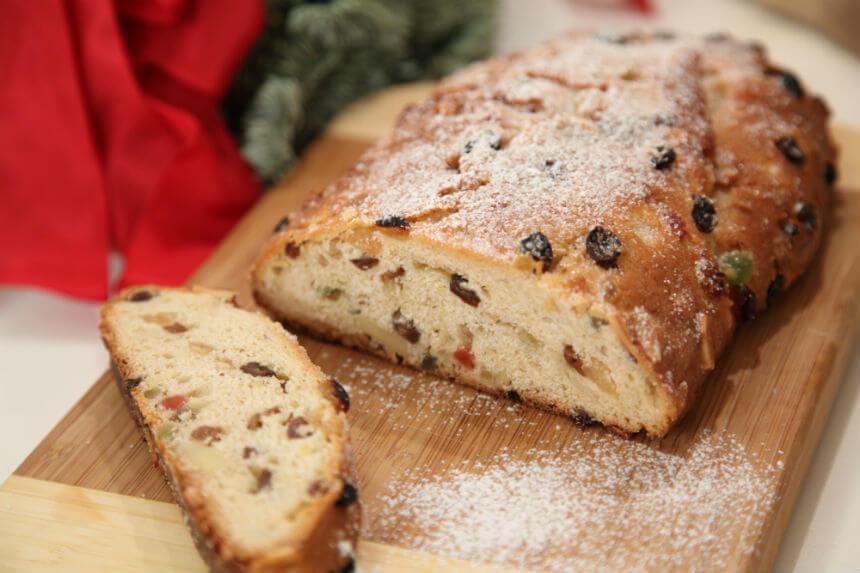 Christstollen - njemački božićni kolač - Fini Recepti by Crochef