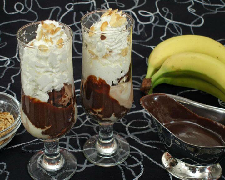 Čokoladni kup s bananama - Fini Recepti