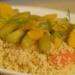 Couscous s pirjanim voćem i povrćem