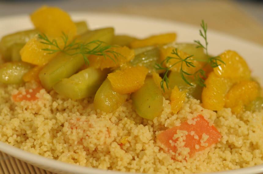Couscous s pirjanim voćem i povrćem - Fini Recepti