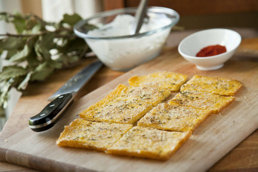 Crostini od palente - Fini Recepti by Crochef
