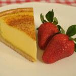 Custard tart  (krem torta od jaja i slatkog vrhnja)