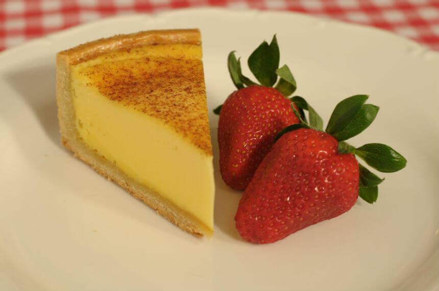 Custard tart (krem torta od jaja i slatkog vrhnja) - Fini Recepti by Crochef