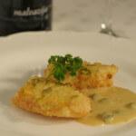 Fileti bijele ribe s umakom od celera