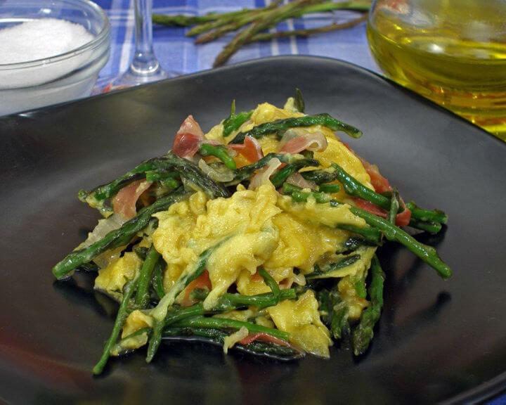 Fritaja s divljim šparogama - Fini Recepti