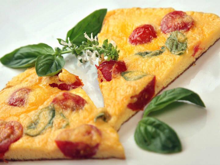 Frittata s rajčicama i bosiljkom - Fini Recepti by Crochef