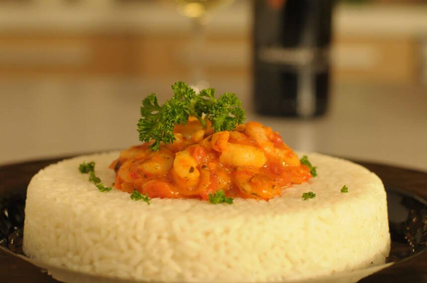 Gamberi s rižom - Fini Recepti