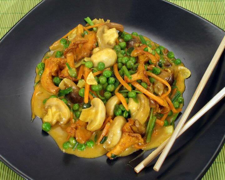 Miks od gljiva iz woka - Fini Recepti