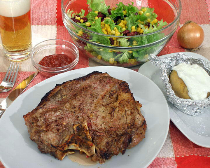 T-bone steak - Fini Recepti