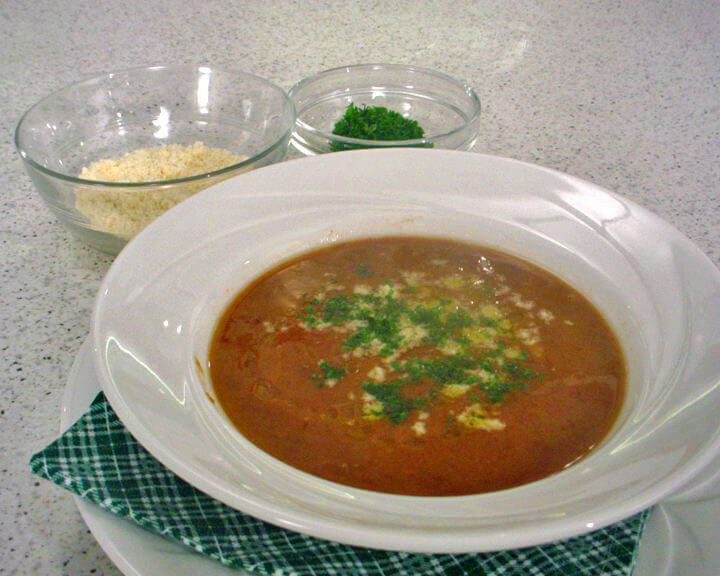 Grah juha s ječmenom kašom