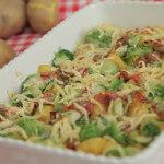 Gratinirani krumpir s prokulicama i pršutom
