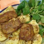 Guščja jetrica s artičokama - Fini Recepti