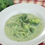 Gusta juha od krumpira, poriluka i brokule