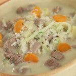Gusta janjeća juha s povrćem