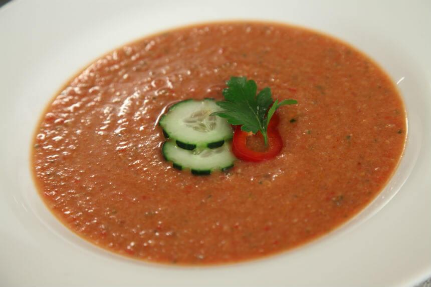 Gazpacho (hladna španjolska juha od povrća) - Fini Recepti by Crochef
