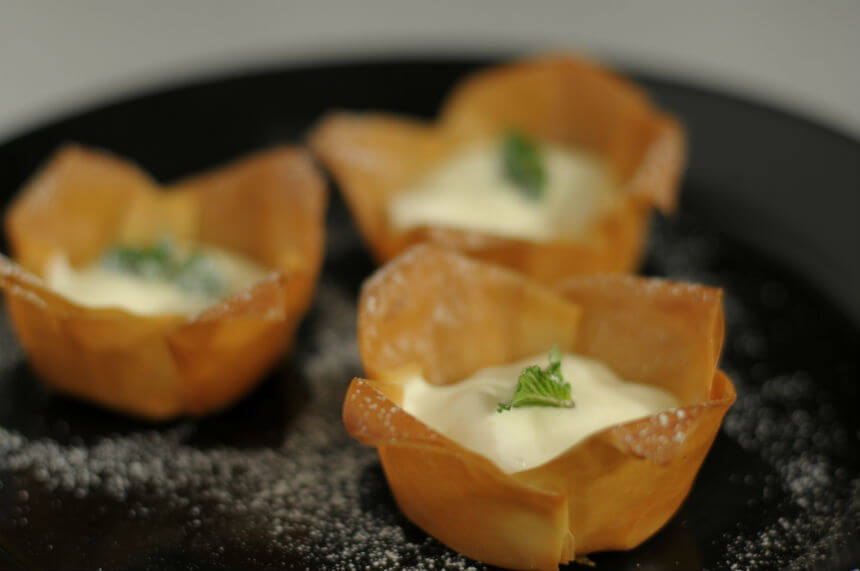Hrskave tortice s breskvama - Fini Recepti