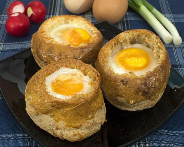 Jaja u pecivu - Fini Recepti