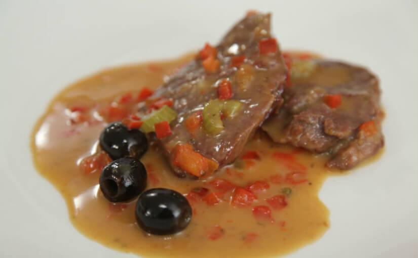 Odresci janjećeg buta s povrćem na mediteranski način