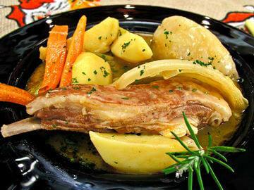 Janjeći flam u povrću - Fini Recepti by Crochef