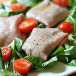 Jastučići od mortadelle na salati od matovilca - Fini Recepti by Crochef