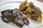 Pečena jetrica s pancetom, jabukom i krumpirom - Fini Recepti by Crochef