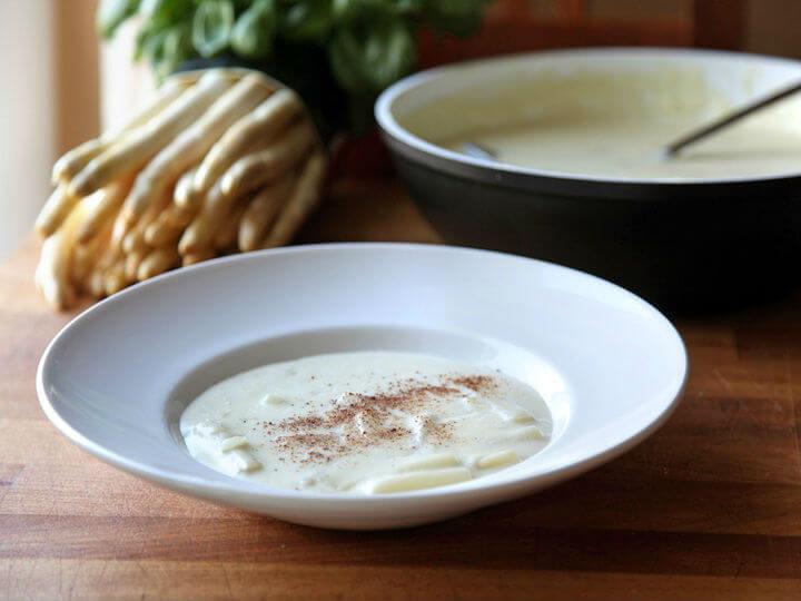 Krem juha od bijelih šparoga - Fini Recepti by Crochef