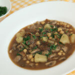 Juha od slanutka, krumpira i gljiva - Fini Recepti by Crochef