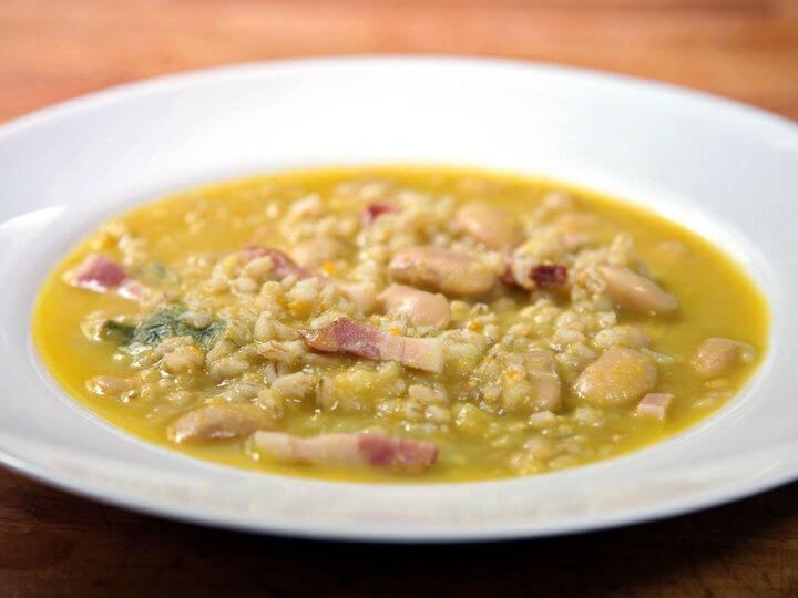 Gusta juha od ječma i graha - Fini Recepti by Crochef