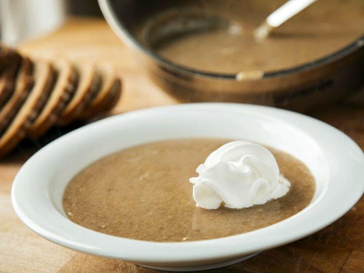 Ollebrod - danska juha od kruha i piva - Fini Recepti by Crochef